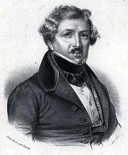 Луи Дагер изобретатель фото