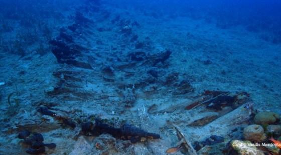 У берегов Греции нашли более 40 затонувших 2 тыс. лет назад кораблей