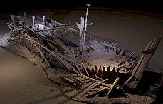 На дне Черного моря нашли более 40 кораблей Османской и Византийской империй