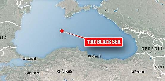 На дне Черного моря в этой точке исследователи нашли затонувшие корабли