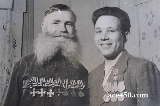 Два Героя на одной фотографии
