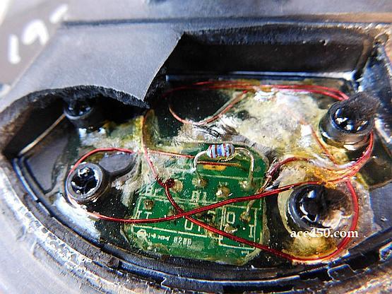 Что находится в середине штатной моно катушки от Фишера F-70
