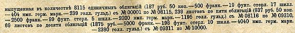Заем российского императорского правительства  1909 года