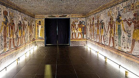 Ученые создали точную копию гробницы фараона с помощью 3d принтера