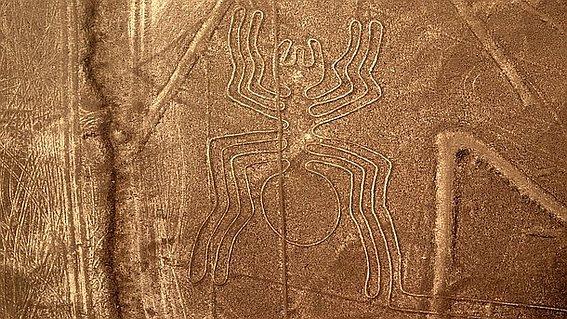 Геоглифы перуанской пустыни Наска