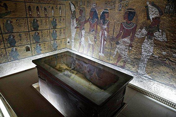 Гробница египетского фараона Тутанхамона