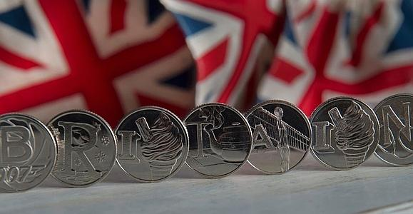 Новые монеты Великобритании