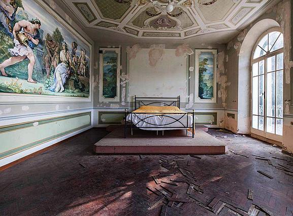 Заброшенные виллы Италии