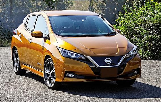 Тест-драйв электрокара Nissan Leaf нового поколения