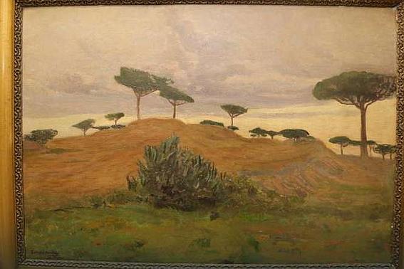 «Пейзаж с окраин Неаполя» Ивана Труша