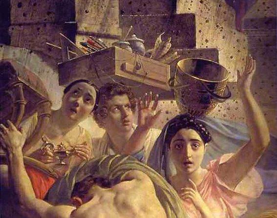 Последний день Помпеи - найден житель древнеримского города