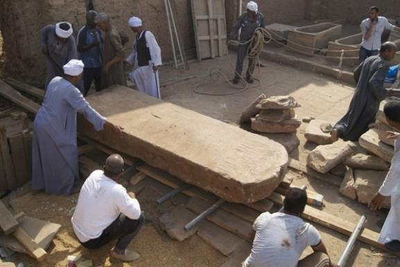 Находки времен царицы Клеопатры сделаны в современном Египте