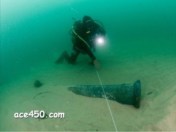 У берегов Португалии подводные археологи нашли затонувший более 400 лет назад корабль