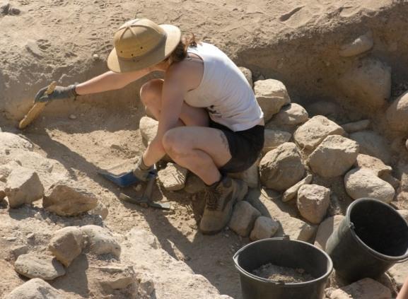 Раскопки в античном Танаисе