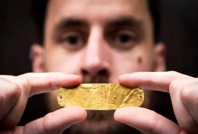 Тот самый золотой слиток из могилы