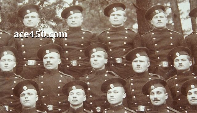 Нижние чины 61 пехотного Владимирского полка