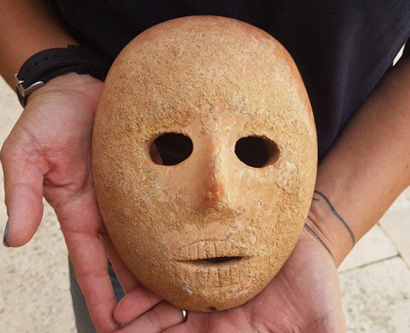 Таинственная маска из неолита найдена в Израиле