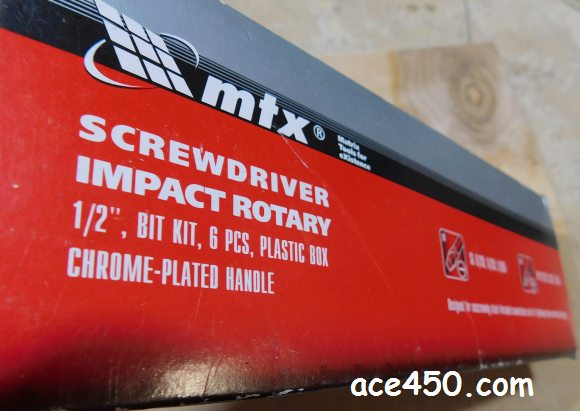 Ударно-поворотная отвертка MTX