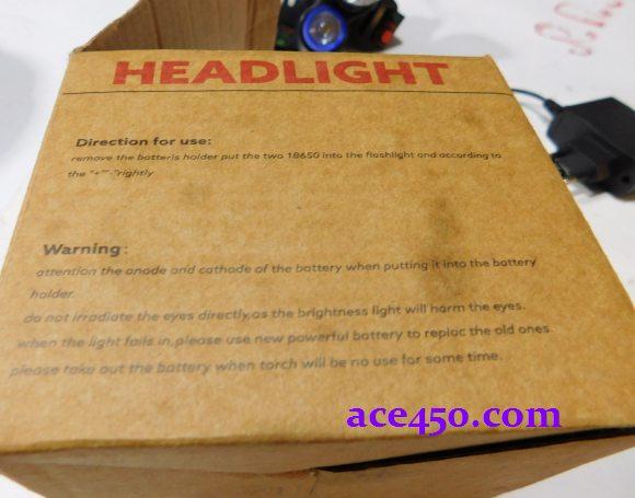 Налобный фонарик - обзор от пользователя