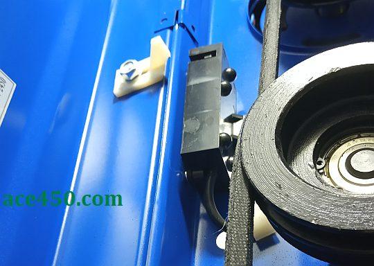 Предохранительный выключатель станка Odwerk BTB16 для предотвращения включения при открытой крышке механизма переключения скоростей вращения