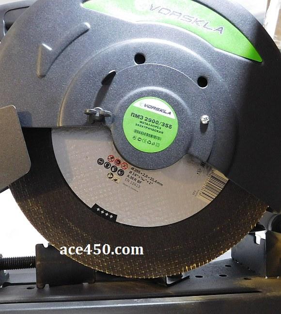 Металлорез Ворскла с фирменным отрезным диском от Боша (Словакия)  особых преимуществ при резе нету. Не тратьте деньги, берите что попроще и подешевле, работает точно так же