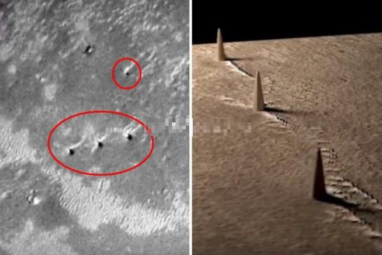 На Марсе нашли пирамиды которые скрывало NASA