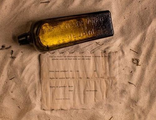 Самое старое письмо в бутылке нашли в Австралии