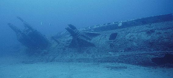 Подводная лодка на которой предположительно бежал Гетлер найдена потопленной у берегов Дании