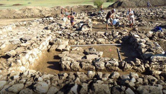 Царское поселение времен Боспора найдено при раскопках недалеко от города Керчь