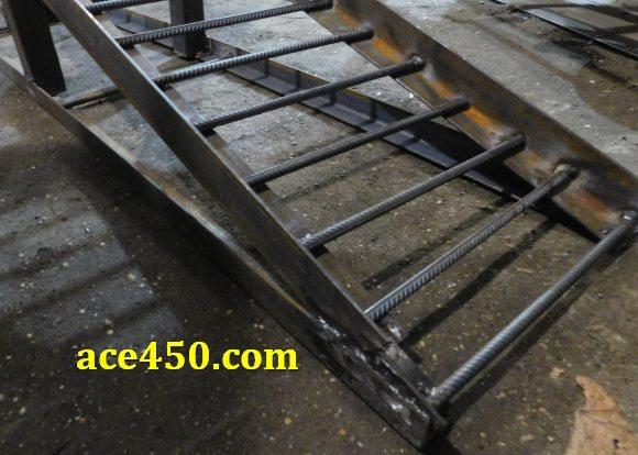 Подъемная рампа для гаражной эстакады